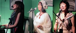 pre LIVE VOL.7    9/29(火)「弾き語り編」松井 恵子  出雲 茉紀子  Leo:hisayo