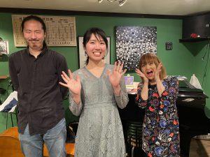 中 止 11/26(木)「ゆりそねトリオ」 仲曽根 有里  西垣 ドラミ  井上 歩