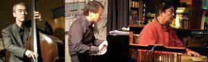1/30(土)昼 :  「ラテン・ジャズライブ〜飛び入り歓迎」田村 文利  井上 幸祐  浅野 文夫