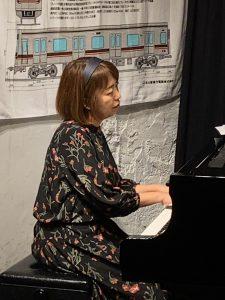 1/26(火)小場 真由美 ピアノソロ