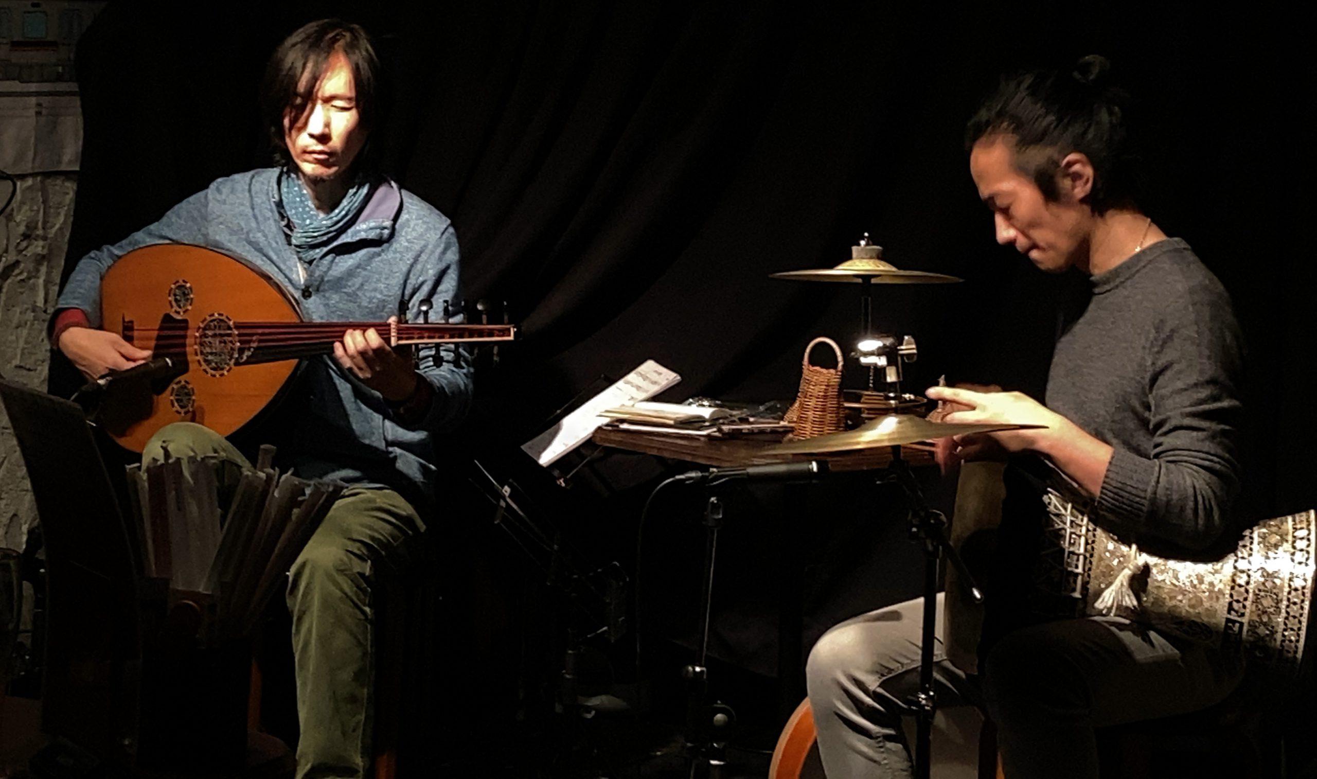 2/26(金)18:50〜【Rüsva】加藤 吉樹  森内 清敬  DUO